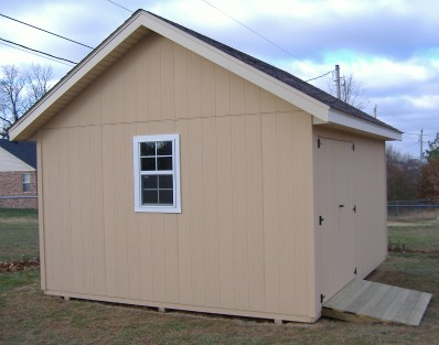 Gable Roof Storage Sheds Built On-Site